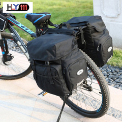 Outdoor Sports Cycling Bag Bicycle Baggage Shelf Baggage Waterproof Cycling Backpack black one size