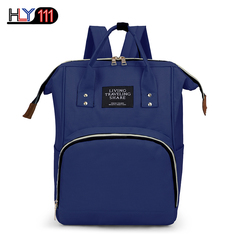 Baby Diaper Bag Backpack Multi-Function Waterproof Maternity Nappy Bags for Mom Dad Large Capacity Dark Blue one size