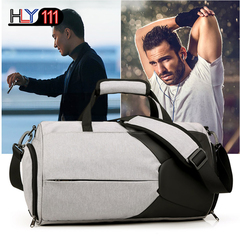 Multifunctional Yoga Fitness Bag Large Capacity suitcase bags Sports Travelling Bags Single Shoulder Gray one size