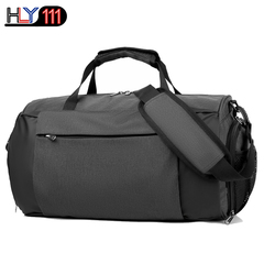 Sports  fitness bag one shoulder traveling bag swimming yoga backpack football sports training bag black one size