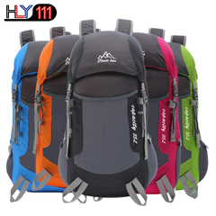 Folding Bag Ultra Light Bag Travel Backpack Outdoor Backpack Mountaineering Bag Light Portable black one size