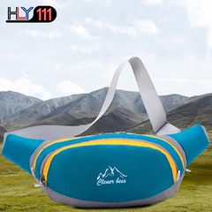 Fanny Pack Water Resistant Running Waiste Pack Outdoors Workout Traveling Casual Hiking blue one size