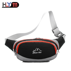 Fanny Pack Water Resistant Running Waiste Pack Outdoors Workout Traveling Casual Hiking black one size