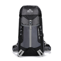 45L Hiking Backpack for Outdoor  Travel ClimbingTrekking Waterproof Mountain Top Mountaineering Bag black one size