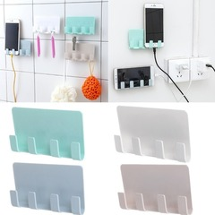 1 PC wall frame utility socket charging box bracket mobile phone tablet bracket Green One size