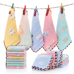 5 pack Premium Extra Soft Newborn Baby Face Towel Baby Muslin Washcloths Absorb in 3 Seconds and Dry 5 pack color random 30 x 30 cm