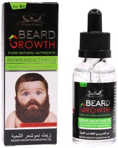 Fast Beard Growth Oil Bosue Beard Growth Liquid Essential Oils 40 ml