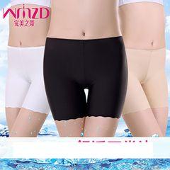 3 pack Women Underwear Slip Shorts for Women Short Leggings Under Dresses Tight Under Shorts 3 pack(Black+white+nude) XL-XXL(fit for 50-65kg)