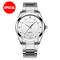 Couple Watch Mens Watches Top Brand Luxury Quartz Watch Women Clock Wristwatch Fashion lovers Gift man white one size