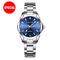 Couple Watch Mens Watches Top Brand Luxury Quartz Watch Women Clock Wristwatch Fashion lovers Gift woman blue one size