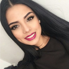 Straight Lace Front Wigs Pre-Plucked Hairline With Baby Hair Human Hair Lace Wigs Lace Frontal Wigs Rose net black 60cm