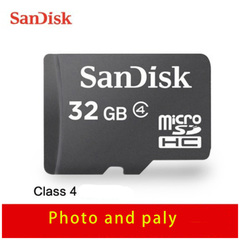 Sandisk Memory Card Micro SD Card with Adapter 16GB 32GB 64GB 1288GB 200GB SDXC SDHC U1 C10 TF Card black 64G Normal Sandisk