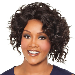 Kilimall selling women's small African curly hair wig as pictures as picture
