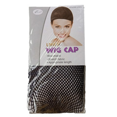 Wig hair net high elastic lace double headed African wig black 1 pcs