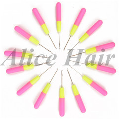 Hair crochet hooks braids needle synthetic pin photo color 1pcs