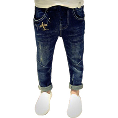kids jeans for boys spring autumn denim pants ripped children jeans kids jean hot sale photo color 110