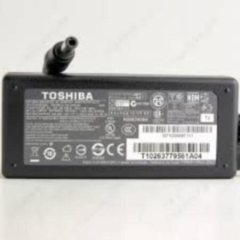 Toshiba Laptop Charger Adapter 19V 3.42A-Black