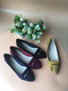 soft materials and casual ballerinas shoes! blue 39