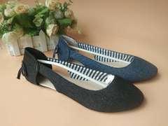 Jean Materials shoes blue 40