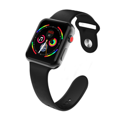 Bluetooth Smart Watch for Apple Watch series 3 Wristwatch HD Screen Wearable Devices Smartwatch black one size