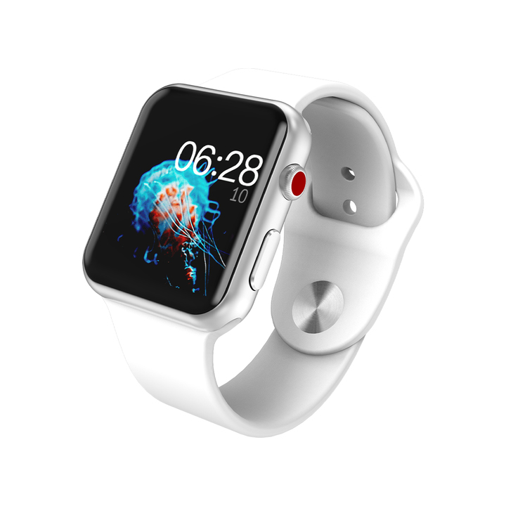 Bluetooth Smart Watch for Apple Watch series 3 Wristwatch HD Screen Wearable Devices Smartwatch white one size