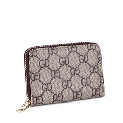 Cards Holder Pocket Wallet with PU Leather Folding Slim Convenient ID Cards LV Gucci Chanel wallet A L11*H8.5*W2.5cm