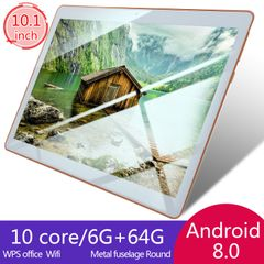 Apple Ipad 2/3/ 4 design and full HD 10.1 inch IPS android tablets 6Gb+64G+128G WIFI Dual SIM 4G GPS gold 6+64g