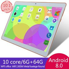 Android pad 2/3/4 full HD 10.1 inch IPS android tablets 6Gb+64G WIFI Dual SIM 4G GPS app clie ipad gold default