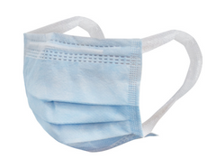 50 Pcs 3Ply Disposable Face Mask three-layer Medical PM2.5 Face Masks with thick earloop In Stock 3m 50 pcs