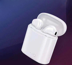 ALAMO Mini Bluetooth earphones with Charging Bin white