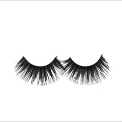 1 Pairs New False Eyelashes Handmade Black Long Thick Natural Fake Eye Lashes as picture black