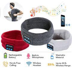 Wireless Bluetooth Stereo Headphones Running Earphone Sleep Headset Sports Earphones & Headset grey