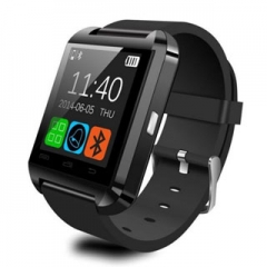 Smart Watches U8 Sport  Pedometer Handsfree Bluetooth Smartwatch Wristband for Android Phone black one size