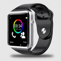 Smart Watches A1G08 SIM/TF Bluetooth Sport Pedometer WristWatch For Android phone Infinix /Cubot black one size