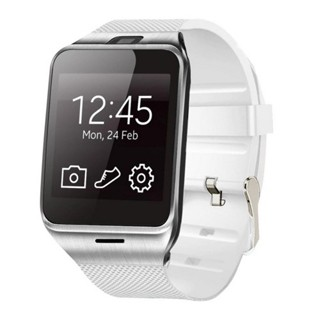 Smart Watches DZ09 SIM/TF bluetooth Sport Pedometer WristWatch smart watch for apple/Android white one size