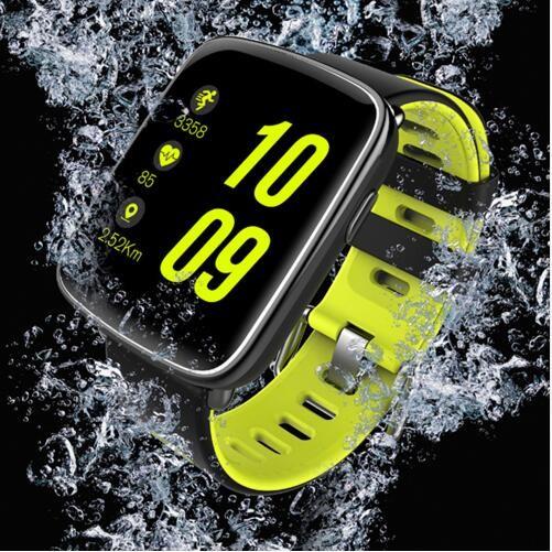 ... GV68 Smart Watch waterproof Summer Swim Wristwatch Sync Phone Call Notification pushing Heart GREEN one size