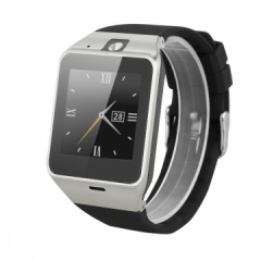 NFC Bluetooth Smart Watch with Camera SIM Watch Sync Call Anti-lost phone mate for Android IOS black one size