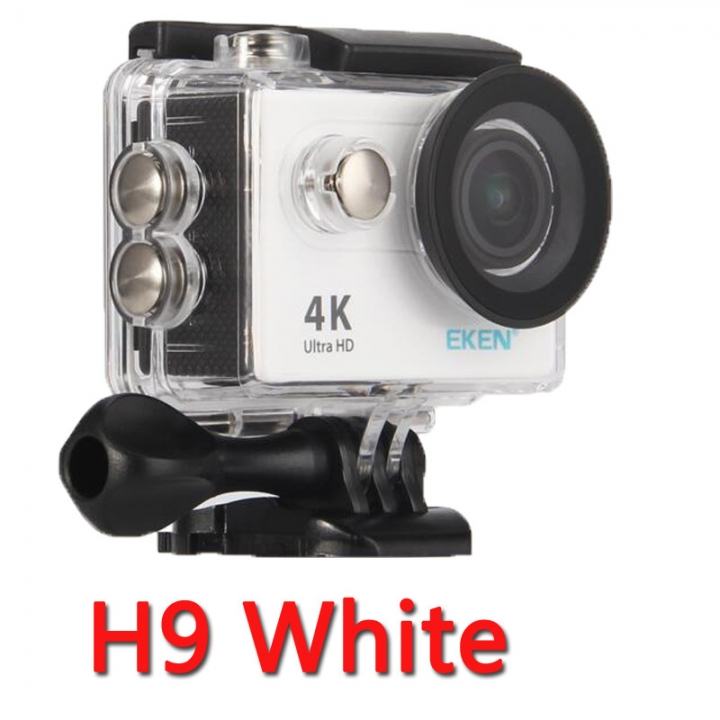 "Action camera H9R Ultra HD 4K WiFi 2.0"" 170D underwater waterproof Helmet Cam camera Sport cam white one size"