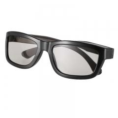 3D Glasses Circular Polarized Lenses for Polarized TV Real D 3D Cinemas
