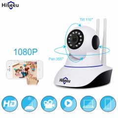 Home Security IP Camera Surveillance Camera Wifi Night Vision CCTV Camera Baby Monitor white one size