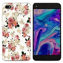 TECNO Y2 WX3 Phantom8 K7 Phone Case Soft TPU Back Cover Silicone Clear Cartoon For K9 L8 L9 L9Plus Picture color L8