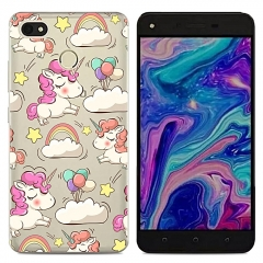 TECNO Y2 WX3 WX4 Phantom8 K7 Phone Case Soft TPU Ultra-thin Shockproof Back Cover Silicone Clear picture color k7