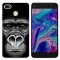 TECNO Y2 WX3 WX4 Phantom8 K7 Phone Case Colorful Soft TPU Back Cover Silicone Clear picture color k7