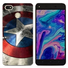 Phone Case For TECNO Y2 WX3 WX4 Phantom8 K7 Soft TPU Back Cover Silicone Clear Cute picture color k7