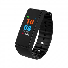 Smart Watches Blood Activity Heart Pressure Waterproof Bluetooth Step Checker  IOS Android Phone black one size