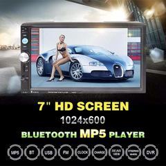 sunRiseAtSea  Double Din Car Radio - Bluetooth Touch Screen 7 inch,Video MP5/4/3 Player (YYD-7018B) black