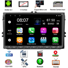 sunRiseAtSea Android 8.1 Car Navigation Stereo Bluetooth with key - 9