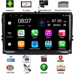 sunRiseAtSea Android 8.1 Car Navigation Stereo Bluetooth- 9