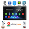 """sunRiseAtSea Android 8.1 Car Navigation Stereo Bluetooth - 7"""" HD Touch Screen(YYD-7010G) black"""