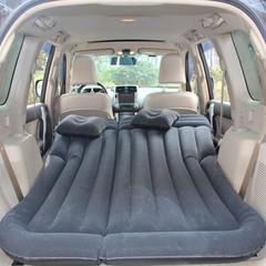 Car inflatable mattress suv back car inflatable bed backseat car travel bed car air mattress black